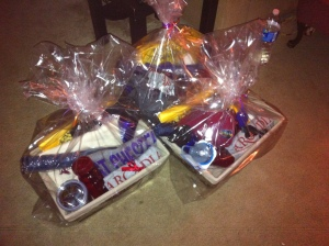 Baskets for conference